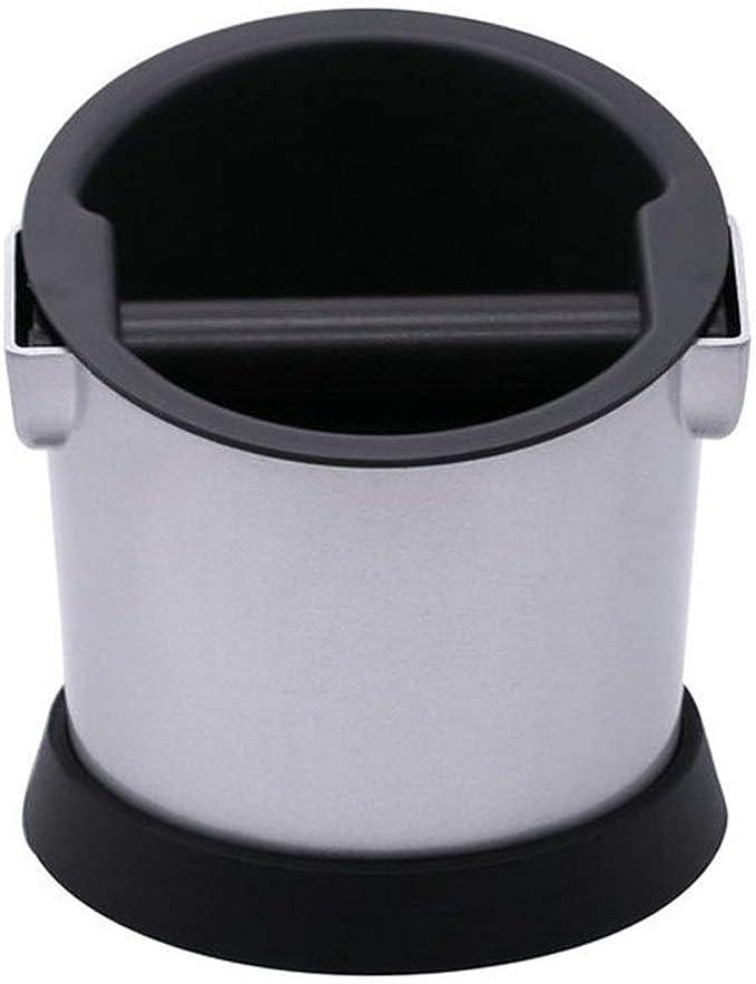 Caja de Café Pequeña Capacidad posos de café Cubo Caja de Discos Removibles Cafetera Electrodomésticos Apoyo de Hogares (Color : Blanco, tamaño : 15x15.5x15.5cm): Amazon.es: Hogar