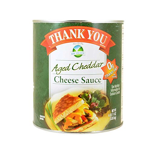 Sauce Thank You Aged Cheddar Cheese Sauce, no.10 Can -- 6 per Case by Amboy Specialty Foods