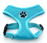 JIM Dog Cat Control Harness Pet Puppy Harness Soft Paw Rubber Mesh Walk