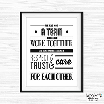 Etonnant Teamwork Quotes For Office Wall Art Printable Success Quotes Motivational  Wall Decor Inspirational Quote For Work