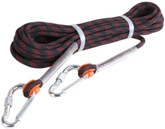 YYHUWAI Cuerda for Exteriores - Cuerda estática de 9 mm ...