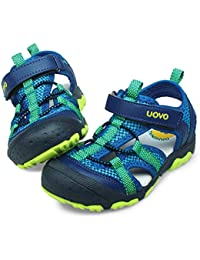 18bc6f87111c71 Boys Sandals Hiking Athletic Closed-Toe Beach Sandals Kids Summer Shoes