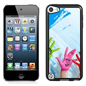 New Beautiful Custom Designed Cover Case For iPod 5 With Happy Hands Phone Case