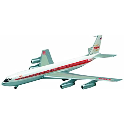 Minicraft TWA 707-331 1/144 Scale: Toys & Games