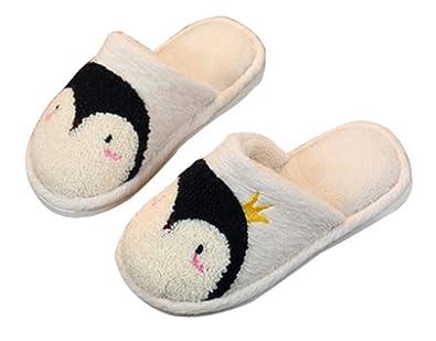 Amazon.com   C\'wait Animal Comfy Kids Slippers Bedroom Slippers ...