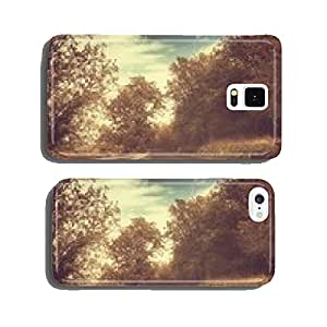 Vintage street with trees cell phone cover case iPhone6