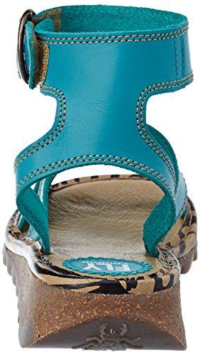 Cheville Vert Verdigris Bride London Tily722fly Femme Fly Sandales qIFZwx1