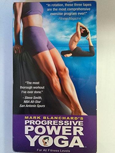 Progressive Power Yoga Mark Blanchard's Volume 2 - (VHS tape)