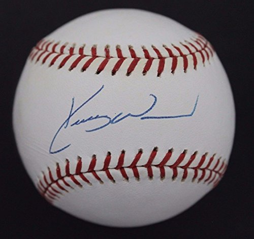 Kerry Wood Chicago Cubs 1998 NL ROY Autographed ONL Signed Baseball JSA B3