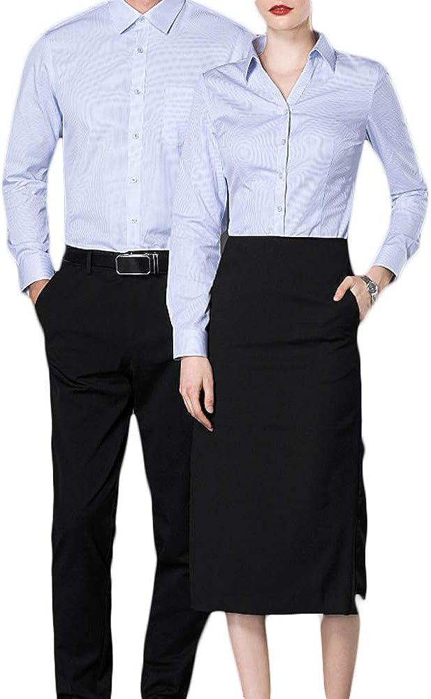 Fiyomet Camisas para Mujer Traje Profesional Vestido Camisa ...