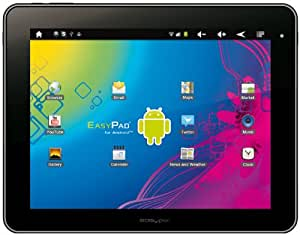 Easypix EasyPad 970 Satellite 8GB Negro, Plata - Tablet (Pizarra, Android, Negro, Plata, Ión de litio, 802.11b, 802.11g, 802.11n, DDR-SDRAM)