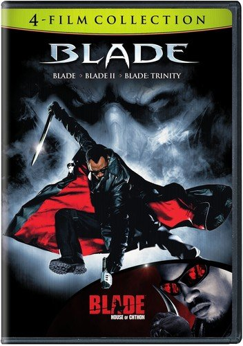 4 Film Favorites: Blade Collection (Blade / Blade II / Blade: Trinity / Blade: House of Chthon)]()