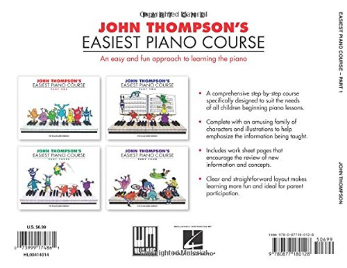 John Thompson's Easiest Piano Course Part 1: John Thompson ...