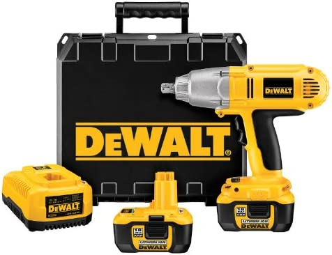 DEWALT DCF059Kl 1 2-Inch 18-Volt Cordless Lithium-Ion Impact Wrench Kit