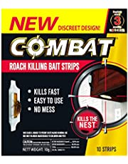 Combat Roach Killing Bait Strips, 10ct