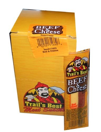 Trails Best Meat Snacks Beef and Cheese Flavor