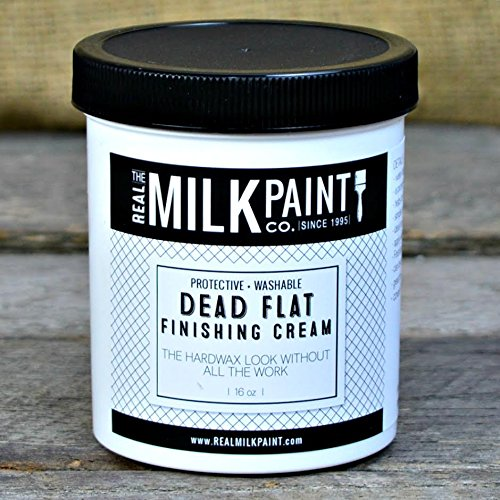 Real Milk Paint Dead Flat Finishing Cream -16 oz.