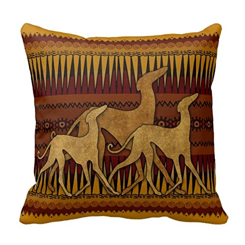 Goodaily Pillowcase Greyhounds of Lazawakh Throw Pillow Cover