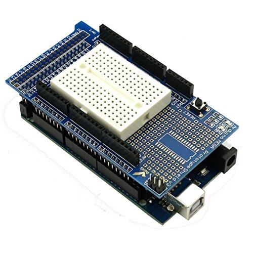 ILS - MEGA 2560 R3 Development Board MEGA2560 With Proto Shield V3 Expansion Board For Arduino
