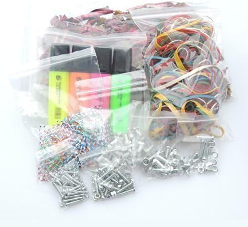 """5000 Small GL3 3/"""" x 3.25/"""" Clear Grip Self Press Seal Zip Lock Plastic Bags"""