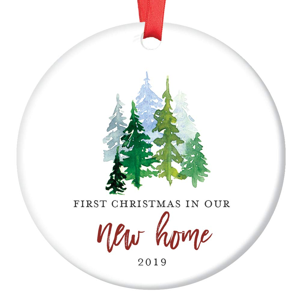 First Christmas Ornament 2019 Amazon.com: New Home Ornament 2019 1st Christmas In Our New House