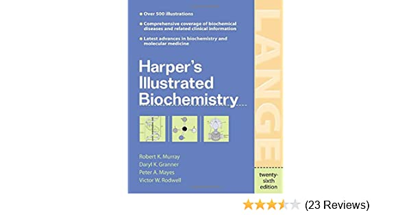 Harpers Biochemistry 25th Edition Pdf