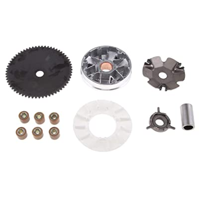 VARIATOR ASSEMBLY FRONT CLUTCH QMB139 GY6 49cc 50cc SCOOTER MOPED ATV GO KART: Automotive