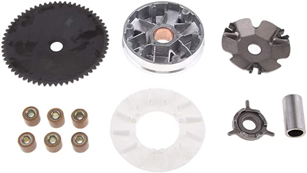 VARIATOR ASSY FRONT CLUTCH QMB139 GY6 49cc 50cc SCOOTER MOPED ATV GO KART