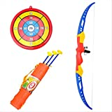 12APM Child Toy for Fun Bow & Arrow Archery Set Crossbow Garden Outdoor Games for Kids Military Simulation GIFT PACKING