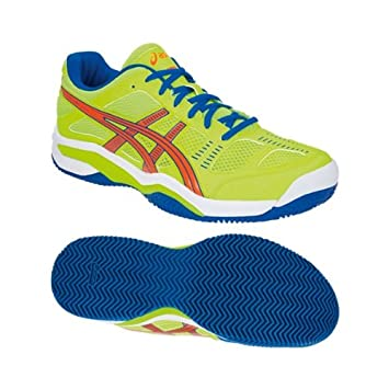 ASICS Zapatillas de Padel Competition SG Fluor 2014-40,5 ...