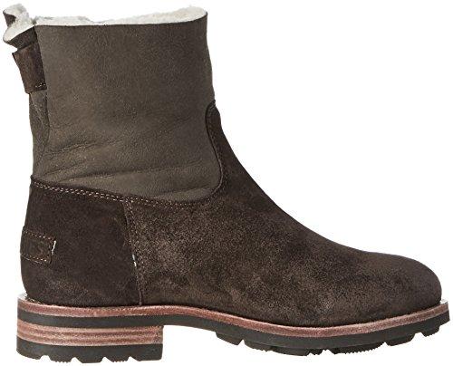 Brown scuro Soft donna da marrone Boots 3040 Amsterdam Shabbies RfwqSS