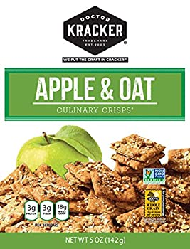 Doctor Kracker Culinary Crisps, Apple Oat Crunch, 5 Ounce