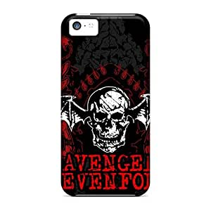 Shock Absorbent Hard Phone Case For Iphone 5c (pwe8914RHQn) Support Personal Customs Realistic Avenged Sevenfold Skin