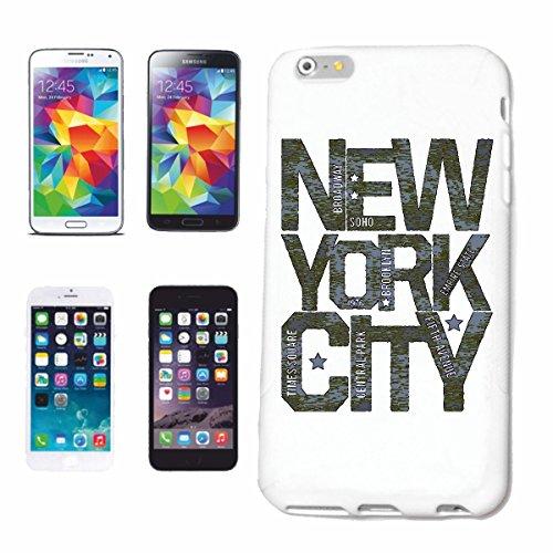 """cas de téléphone iPhone 7 """"NEW YORK CITY USA AMÉRIQUE ÉTATS-UNIS STATUE DE LIBERTY"""" Hard Case Cover Téléphone Covers Smart Cover pour Apple iPhone en blanc"""