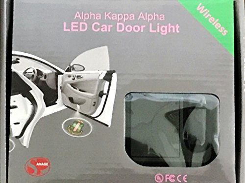 (New Alpha Kappa Alpha Sorority LED Car Door Light)