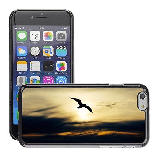 """Hard plastica indietro Case Custodie Cover pelle protettiva Per // M00421602 Seabird Nature Oiseau Seagull animaux // Apple iPhone 6 6S 6G PLUS 5.5"""""""