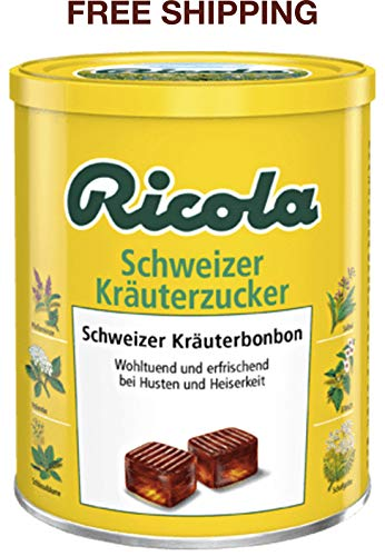 (Sweet, herbal original, Swiss herbal Candies 250 g, Ricola/Switzerland)
