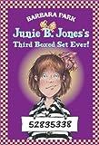 Junie B. Jones' Third Boxed Set Ever