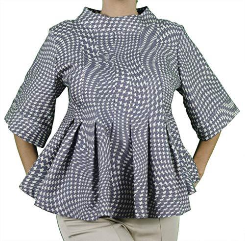 SARA GHIAIE-Camisa de Seda Acampanada-Mujer-Hecho en Italia ...