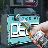 DEDC Bottle Opener for Rear License Plate fits Jeep Wrangler JK TJ Models Wrangler License Plate Mounted Bottle Opener Accessory