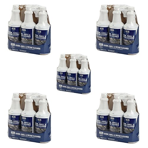 Member's Mark Oven, Grill & Fryer Cleaner - 3 bottles 32 oz each (5 Pack ( 15 bottles))
