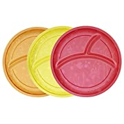 Munchkin Multi Divided Plates, 3 Count