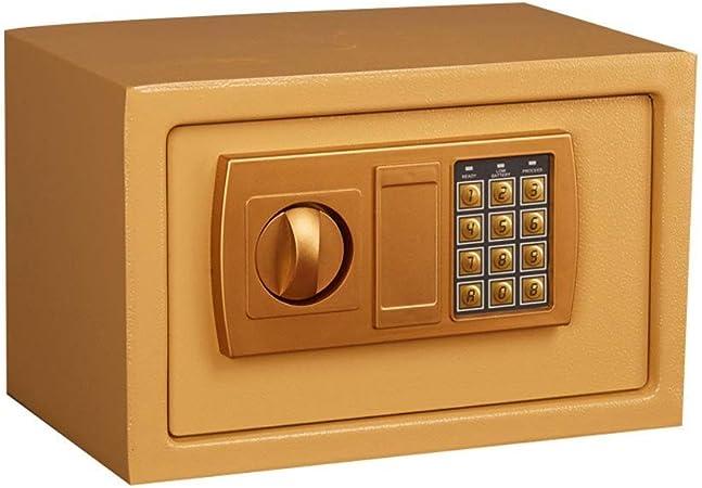 HIZLJJ Cajas fuertes y cerraduras de acero Caja fuerte de seguridad con cerradura digital Caja a
