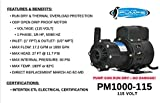 KoolAir Pumps PM1000-115 ODP, Not Submersible, 115