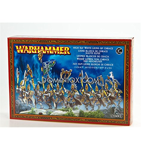 White Lions of Chrace - High Elf - Warhammer Fantasy WHF - Games Workshop Miniatures