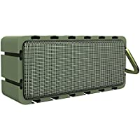Bluetooth Speakers, Zhicity Portable Speaker with HiFi Sound Home Speaker Outdoor Subwoofer Green