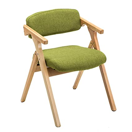 Folding Dining Chairs Padded.Jiangang Shop Stool Home Solid Wooden Padded Folding Chair丨