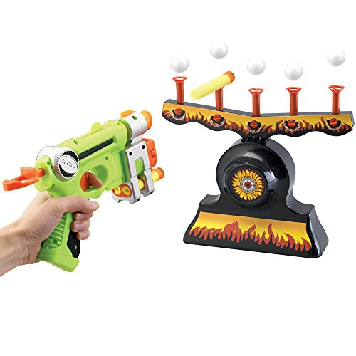 Bits and Pieces - Floating Target Shooting Game - Shoot Foam Darts at Targets For Endless Fun