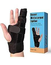 GenetGo Boxer Break Metacarpal Splint Brace - 4th or 5th Finger Splint Support