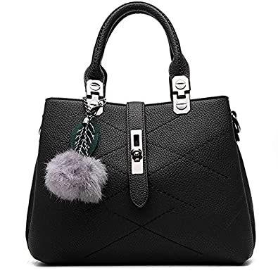 KINGH Women Handbags Women Bags Tote Top Handle bags PU Leather ...